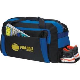 Monogrammed Excursion Duffel Bag