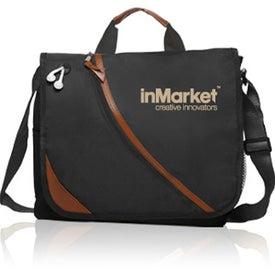 Executive Polyester Messenger Bag