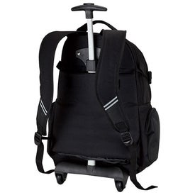 Executive Rolling Backpack with Your Slogan