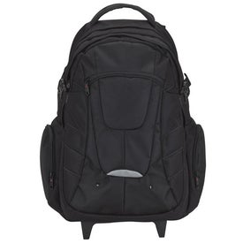 Executive Rolling Backpack for Your Organization