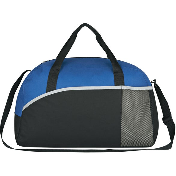 Royal Blue with Black / Gray Trim Executive Suite Duffel Bag