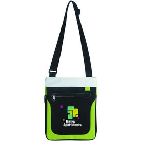 Branded Expandable Carry-All Bag