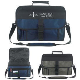 Customized Expandable Deluxe Briefcase