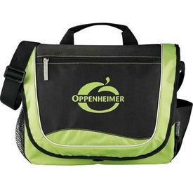 Explorer Messenger Bag Printed with Your Logo