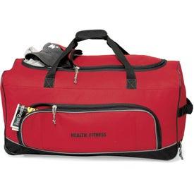 Monogrammed Express Wheeled Duffel Bag