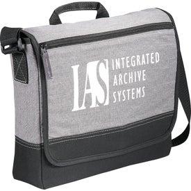 Faded Tablet Messenger Bag for Advertising