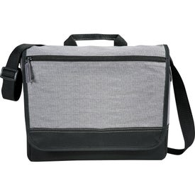 Faded Tablet Messenger Bag Printed with Your Logo