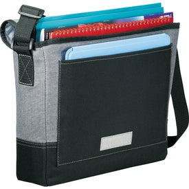 Company Faded Tablet Messenger Bag