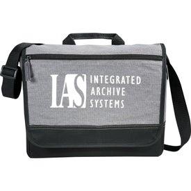 Promotional Faded Tablet Messenger Bag