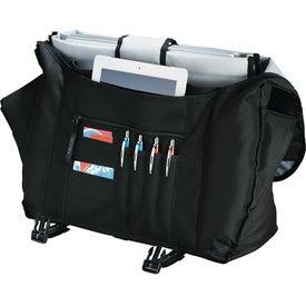 Customized Falcon Checkpoint Compu-Slingpack Buckle Bag