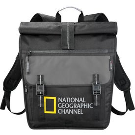 Advertising Falcon Rolltop Compu-Backpack