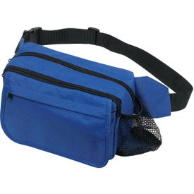 Logo Fanny Pack with Side Pocket