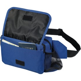 Promotional Fanny Pack with Side Pocket