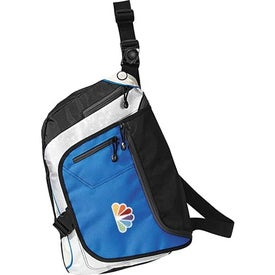 Fast Lane Convertible Messenger Pack Imprinted with Your Logo