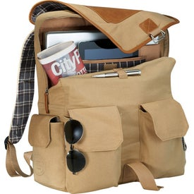 Field & Co. Cambridge Collection Compu-Backpack for Your Company