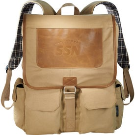 Field & Co. Cambridge Collection Compu-Backpack for Your Church