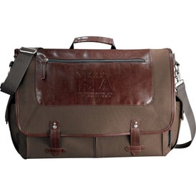 Personalized Field & Co. Compu-Messenger Bag