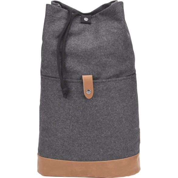 Charcoal Field and Co. Campster Drawstring Rucksack