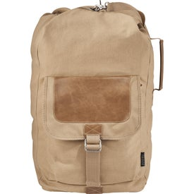 Field & Co. Off-The-Grid Sling Duffel Bag with Your Slogan