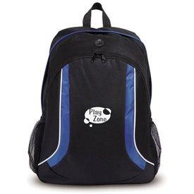 Monogrammed Flair Backpack