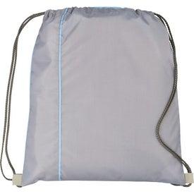Flip Side Drawstring Cinch Backpack for Customization