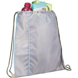 Flip Side Drawstring Cinch Backpack for your School