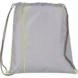 Promotional Flip Side Drawstring Cinch Backpack