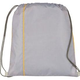 Customized Flip Side Drawstring Cinch Backpack