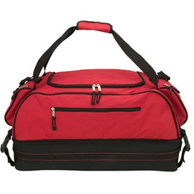 Branded Focale Zippered Duffel