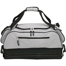 Focale Zippered Duffel with Your Logo