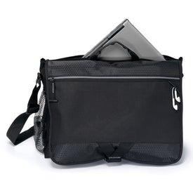 Custom Focus Messenger Bag