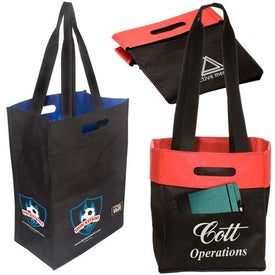 Customized Fold 'n Tote Shopper - 80GSM
