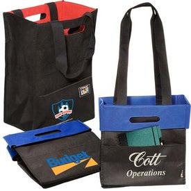 Branded Fold 'n Tote Shopper - 80GSM