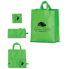 Printed Folding Grocery Bag