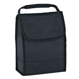 Monogrammed Folding Identification Lunch Bag