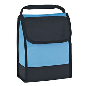 Folding Identification Lunch Bag Branded with Your Logo