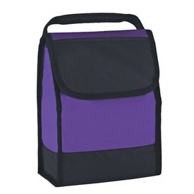 Monogrammed Folding Identification Lunch Bag