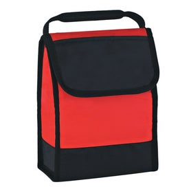 Folding Identification Lunch Bag Printed with Your Logo