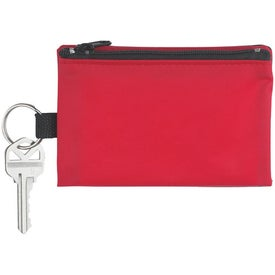 Folding Wallet With Key Ring Branded with Your Logo