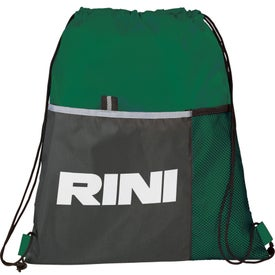 Free Throw Drawstring Cinch Bag