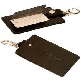 Freedom Swivel Hook Luggage Tag (Silver Clasp)