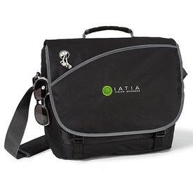 Imprinted Freestyle Computer Messenger Bag