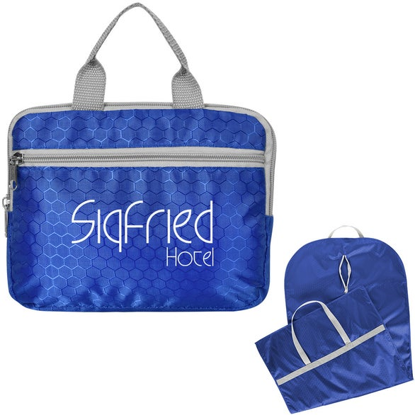 Royal Blue Frequent Flyer Foldable Garment Bag