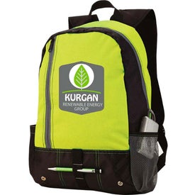 Front Pocket Sport Backpack with Your Slogan