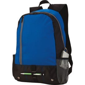 Front Pocket Sport Backpack Branded with Your Logo