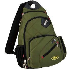 Monogrammed ful Brickhouse Sling Backpack