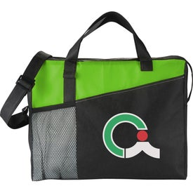 Logo The Full Time Business Brief Bag