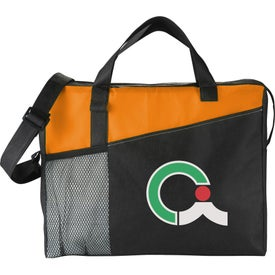 The Full Time Business Brief Bag Printed with Your Logo