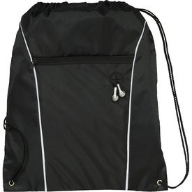 Custom Funnel Drawstring Cinch Backpack