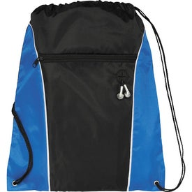 Logo Funnel Drawstring Cinch Backpack